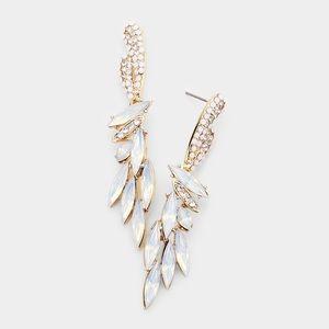 Dazzling Evening Earring Set